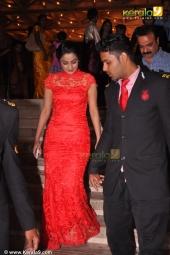 namitha pramod at muktha reception photos 156
