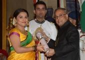 vidya balan padma shri award 2014 photos