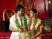 playback singer gayatri asokan marriage photos 003
