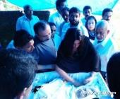 priyanka chopra at ponkunnam kottayam grandmother funeral photos 0092