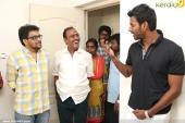 vishaal at production no 7 tamil movie pooja photos 12