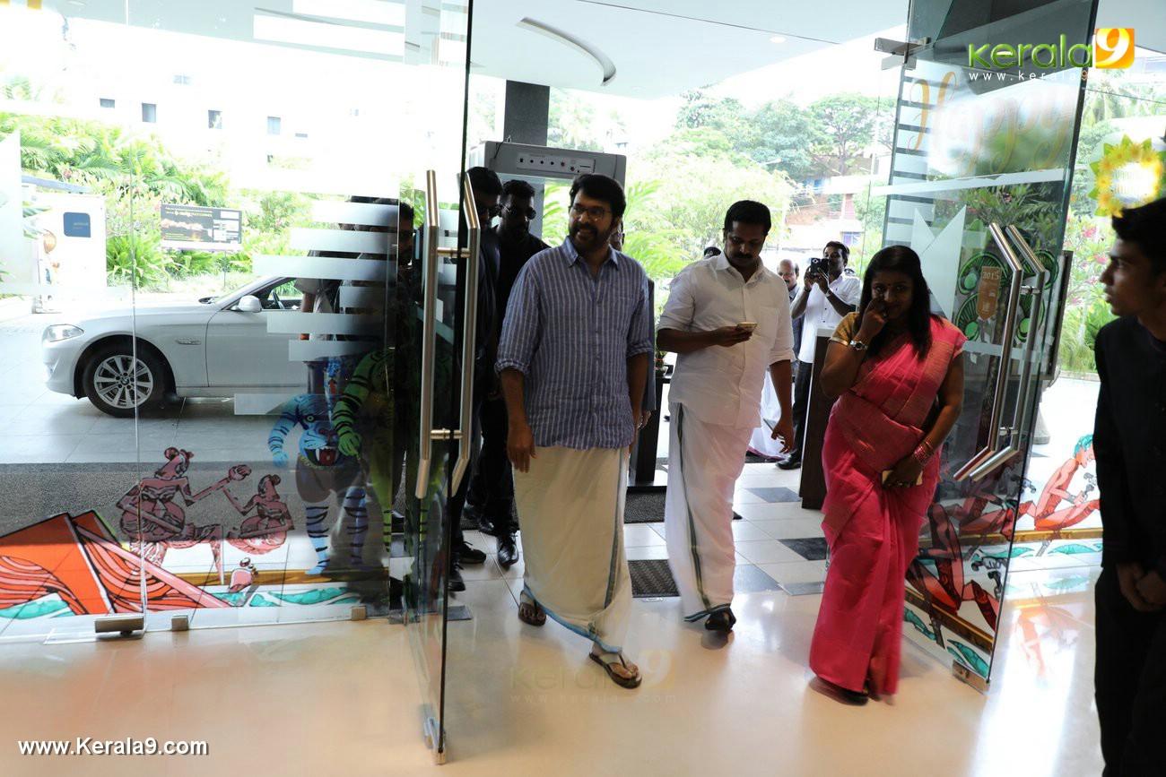 mammootty at pullikkaran stara red fm promotion photos 00