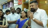ramraj jayaram at cotton thiruvananthapuram showroom inauguration photos 100 001