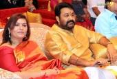 mohanlal at ravi pillai daughter marriage photos 092