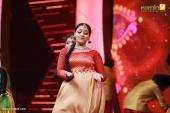 anu sithara at red fm malayalam music awards 2017 stills 656 004