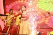 anu sithara at red fm malayalam music awards 2017 stills 656