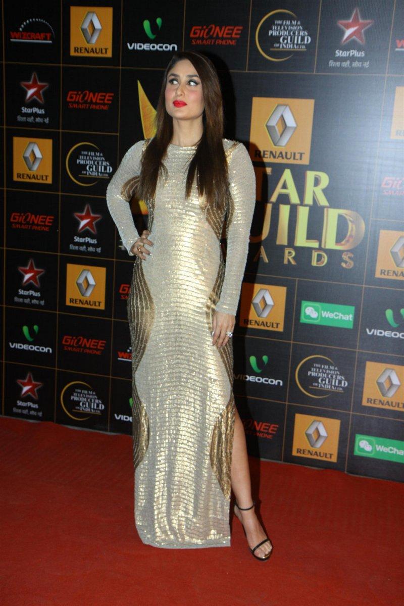 9th renault star guild awards kareena kapoor photos 001