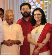 o rajagopal mla at sabarinathan mla divya iyer marriage photos  083