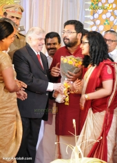 sabarinath mla divya iyer marriage photos  02