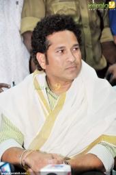 sachin tendulkar at kerala blasters team announced photos 030