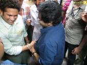 sachin tendulkar at kerala blasters team announced photos 047