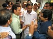 sachin tendulkar at kerala blasters team announced photos 048