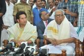 vs achuthanandan in sachin tendulkar at kerala blasters team announced photos 002