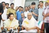 vs achuthanandan in sachin tendulkar at kerala blasters team announced photos 00