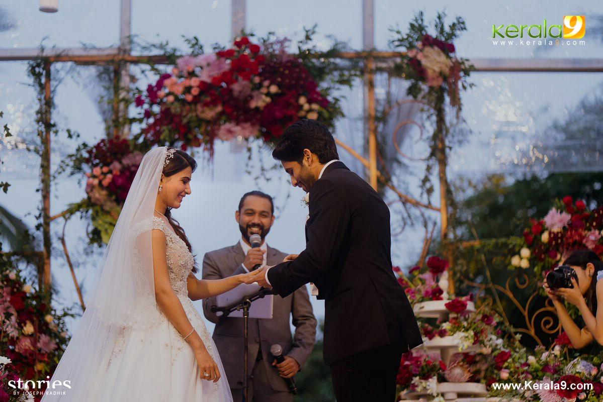 samantha naga chaitanya christian marriage photo