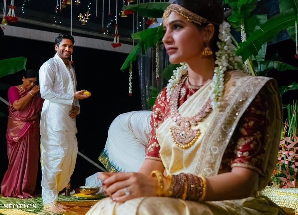 naga chaitanya samantha marriage photos
