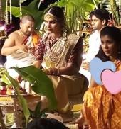 samantha wedding first photos