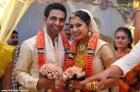 8947samvritha sunil marriage with akhil photos