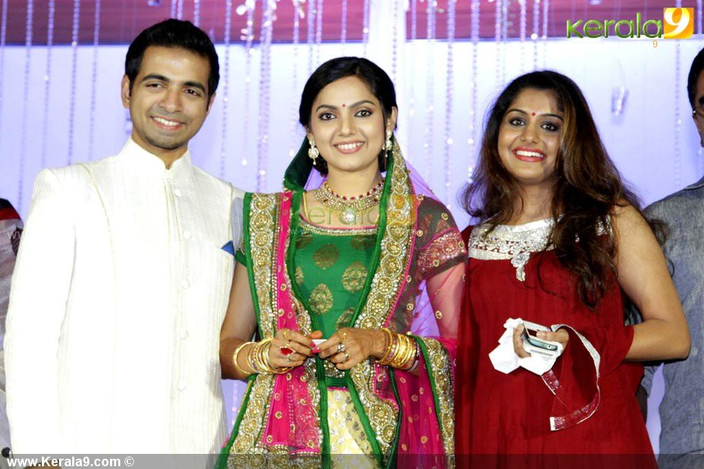 Samvritha Sunil Marriage Wedding Reception Photos Samvritha Sunil