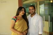 muktha at actress sarayu mohan wedding photos  058