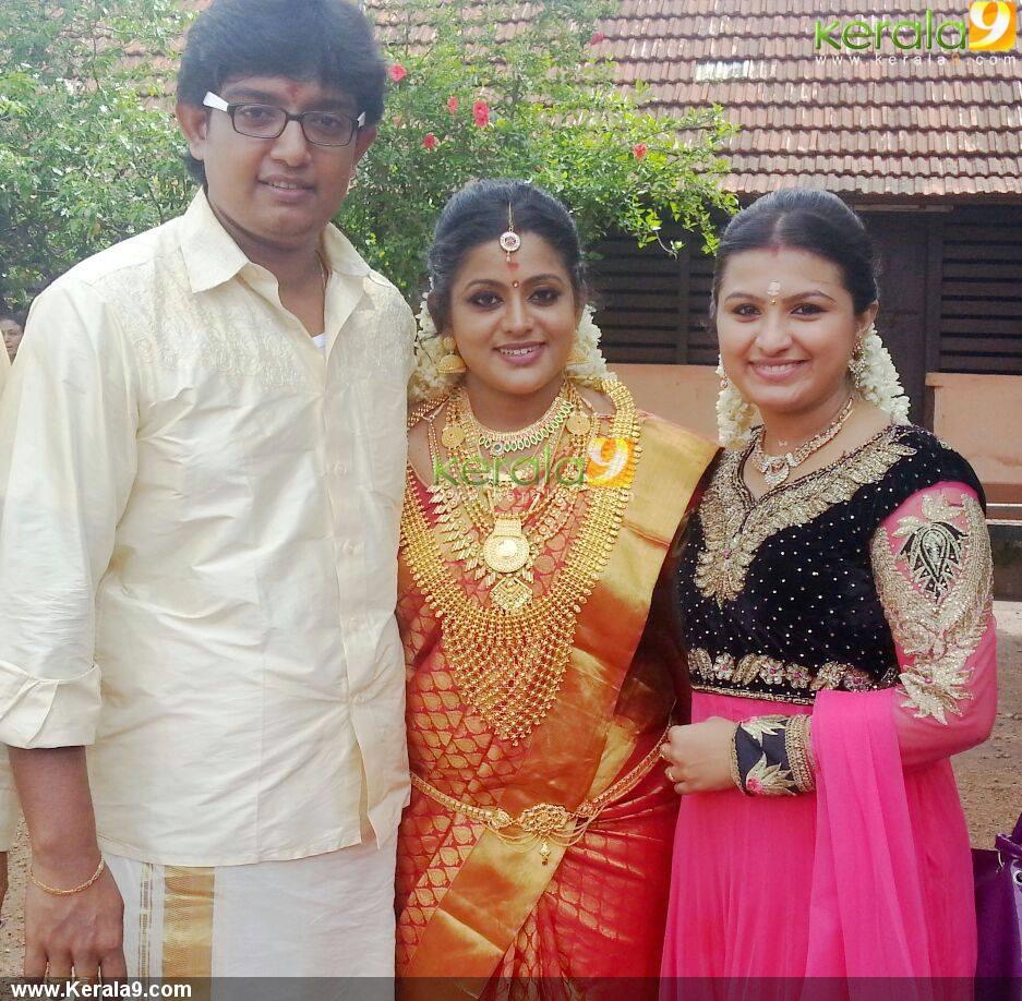 Veena Nair Tv Anchor: Serial Actress Veena Nair Marriage Photos 00133