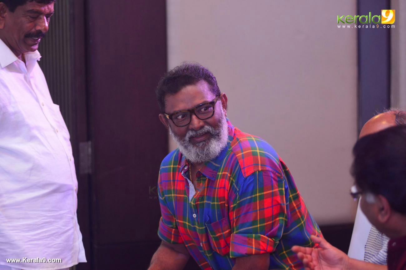 lal at shikari shambu malayalam movie pooja photos 190