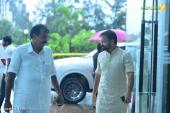 kunchacko boban at shikari shambu malayalam movie pooja photos 116