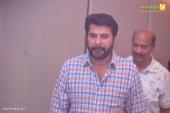 mammootty at shikari shambu malayalam movie pooja photos 115