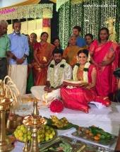 actress shivada nair marriage photos 094