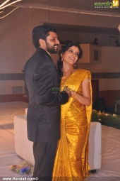 shivada nair murali krishnan wedding reception pictrures 110 010