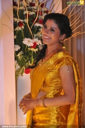 shivada nair murali krishnan wedding reception stills 111 005