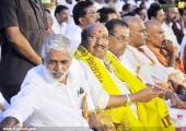 vellappally natesan in sndp new party bharat dharma jena sena launch pics 126 00