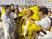 vellappally natesan in sndp new party bharat dharma jena sena launch pics 126 016