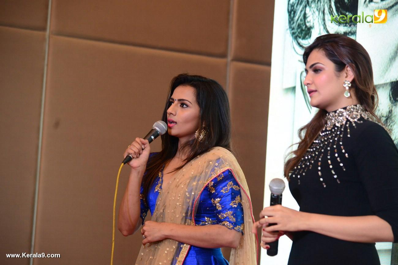 sruthi hariharan at solo malayalam movie audio launch photos 119 005