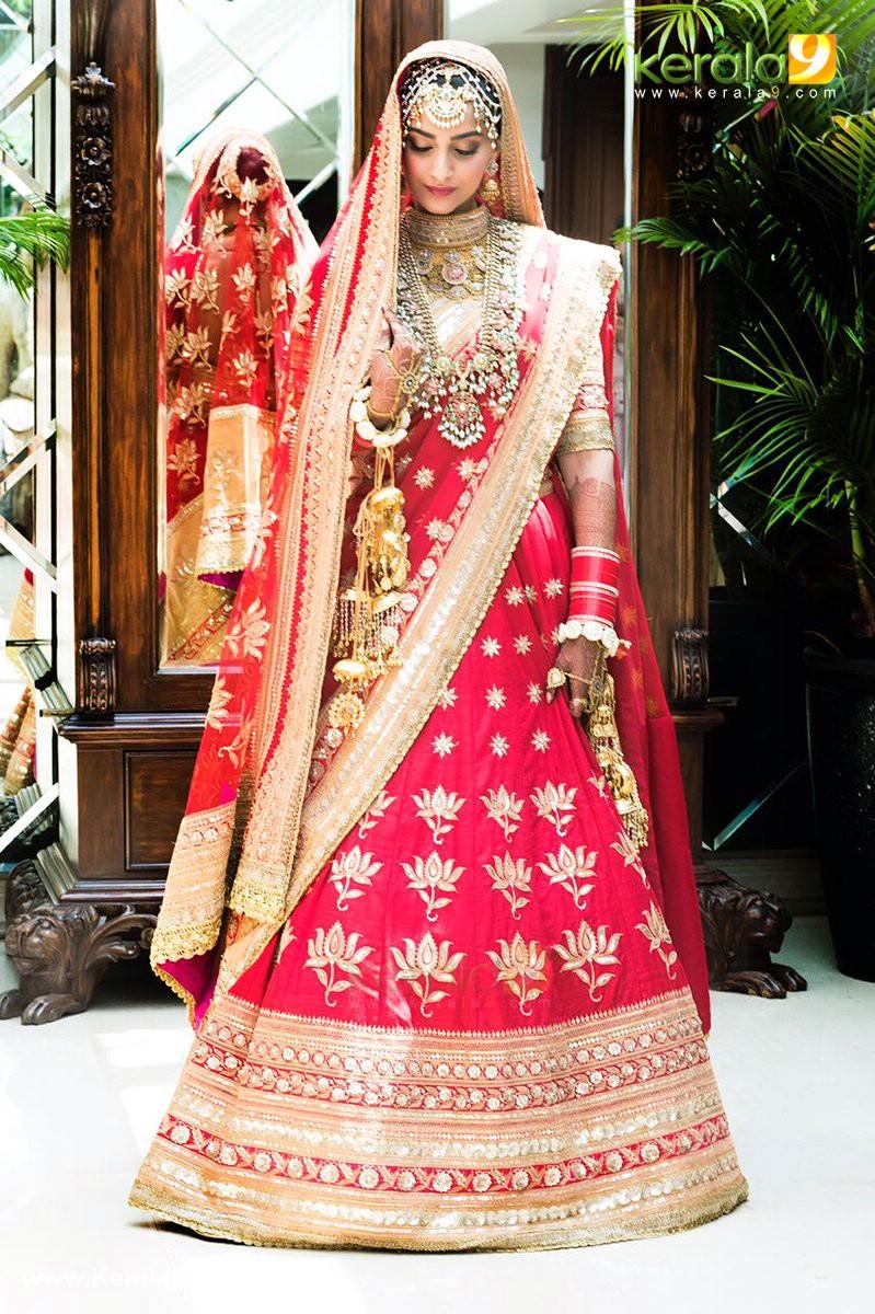 sonam kapoor marriage photos