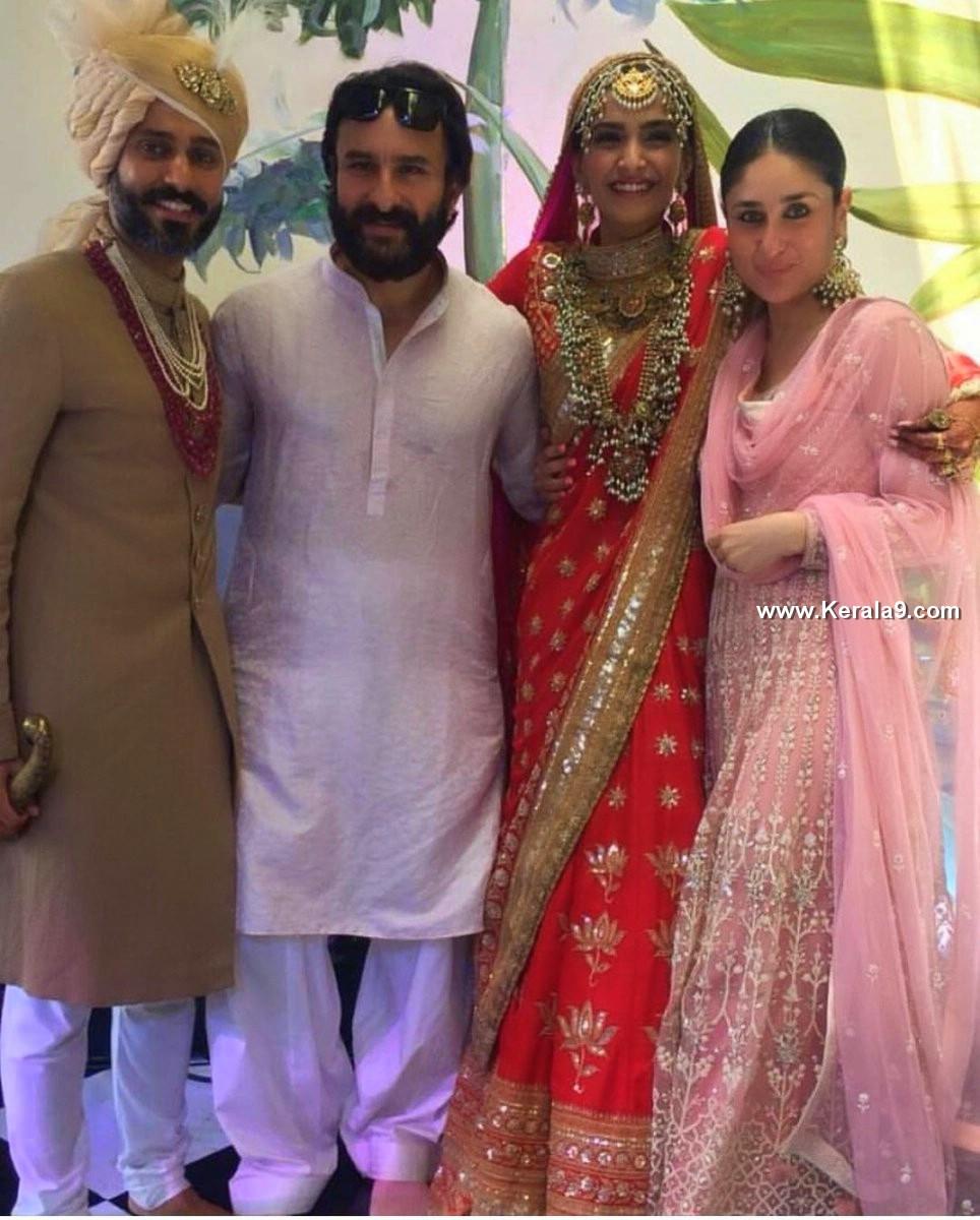 Sonam Kapoor Wedding Images 09393216 Kerala9 Com