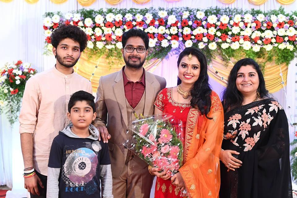 sonu satheesh wedding reception pictures 330