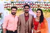 sonu satheesh marriage reception photos 121