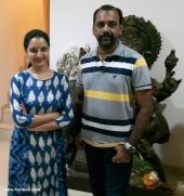 manju warrier at soorya krishnamoorthy daughter wedding photos 004 001