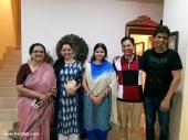 manju warrier at soorya krishnamoorthy daughter wedding photos 004 003