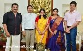 mukesh at soorya krishnamoorthys daughter wedding pics 200