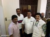 sreenivasan at soorya krishnamoorthys daughter marriage pictures 008 003