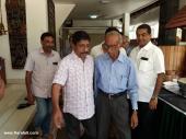 sreenivasan at soorya krishnamoorthys daughter marriage pictures 008
