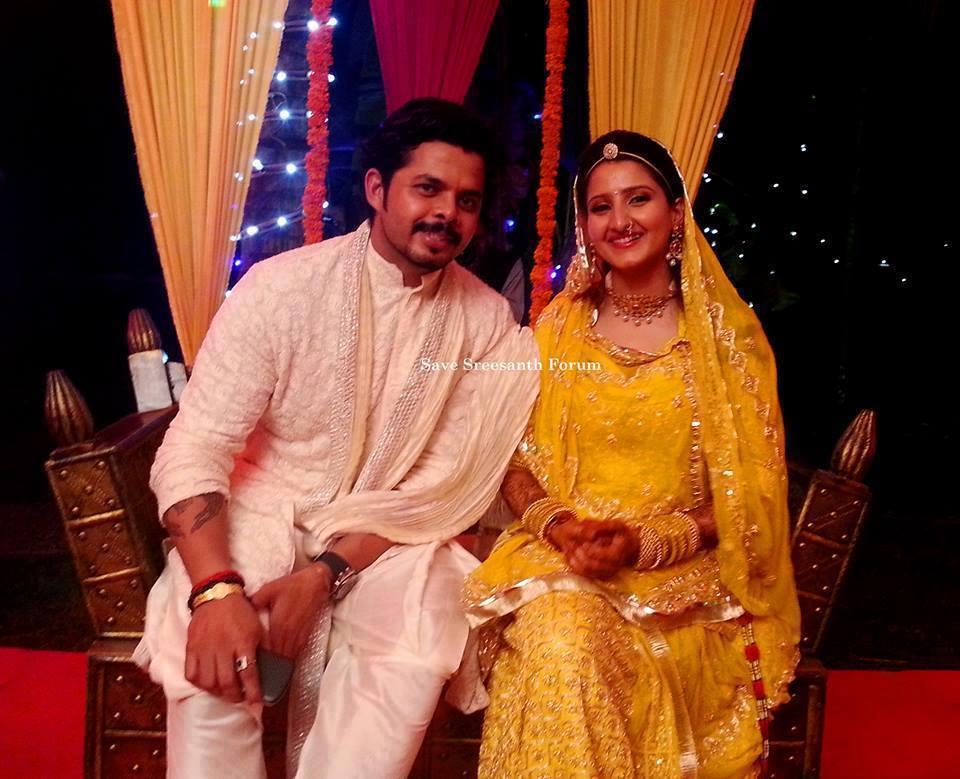 Sreesanth Gallery: Sreesanth Marriage Photos