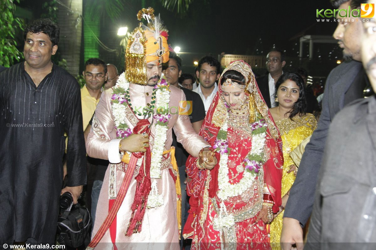 Sreesanth Gallery: Sreesanth_reception_photos 01645