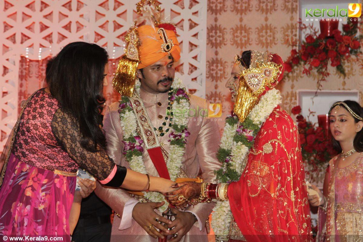 Sreesanth Gallery: Sreesanth_wedding_reception_photos 19168