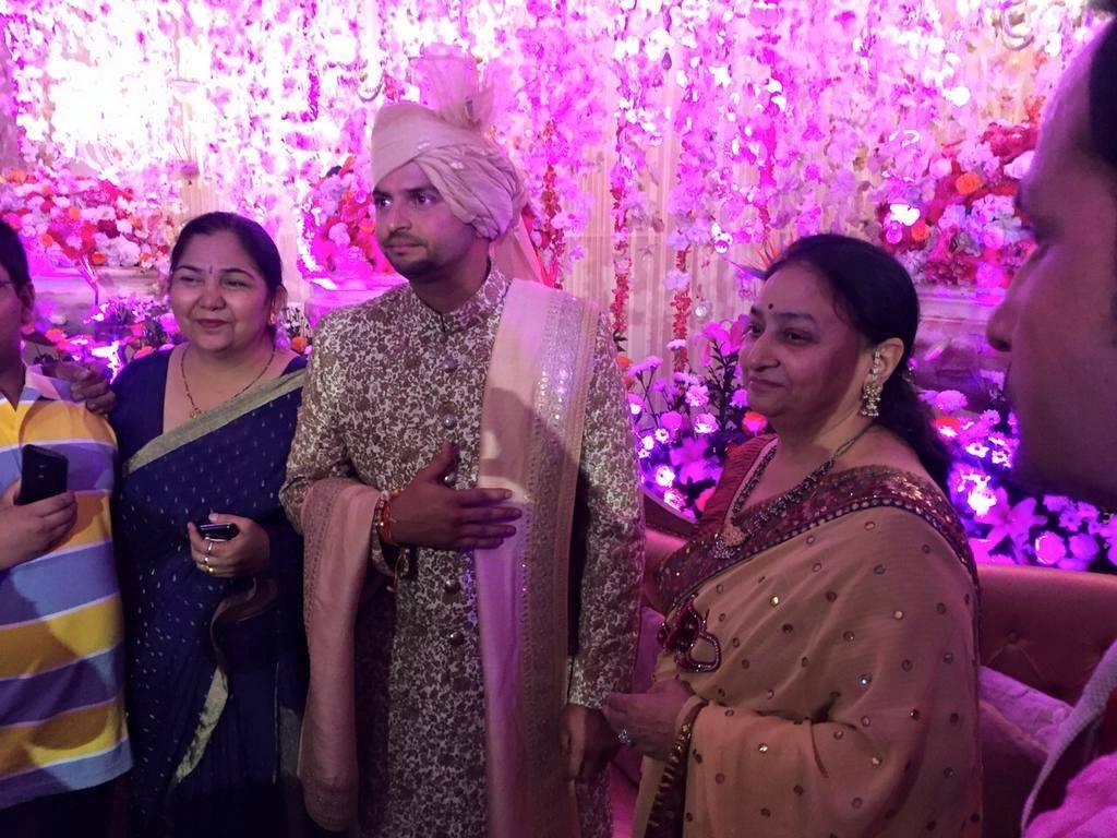 Suresh raina priyanka chaudhary wedding photos 01437 ...