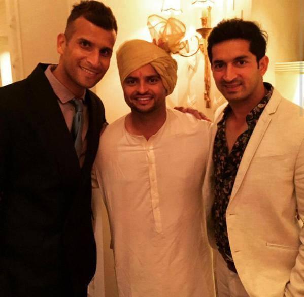 suresh raina priyanka chaudhary wedding pics34 kerala9com