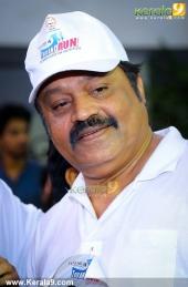 suresh gopi in mini marathon trivandrun pictures 369 005