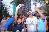 suresh gopi in mini marathon trivandrun pictures 369 006